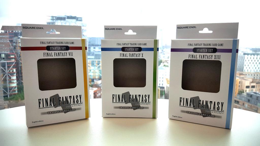 Final Fantasy Trading Cards Starter Pack