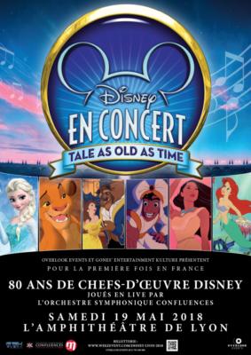 Disney en Concert - Lyon 2018 - Affiche 2